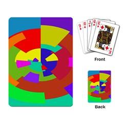 Pattern Playing Cards Single Design by Siebenhuehner