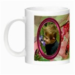 Bleeding Heart Night Luminous Mug Pink