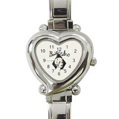Vintage Beauty  Heart Italian Charm Watch  by OCDesignss
