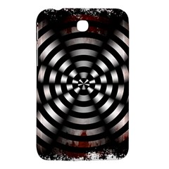 Zombie Apocalypse Warning Sign Samsung Galaxy Tab 3 (7 ) P3200 Hardshell Case  by StuffOrSomething