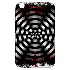 Zombie Apocalypse Warning Sign Samsung Galaxy Tab 3 (8 ) T3100 Hardshell Case  by StuffOrSomething