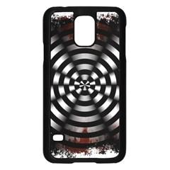 Zombie Apocalypse Warning Sign Samsung Galaxy S5 Case (Black)