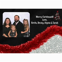 Xmas 2014 By Becky   5  X 7  Photo Cards   Pdc71nhn1xd9   Www Artscow Com 7 x5 Photo Card - 5