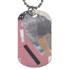 Clarissa On My Mind Dog Tag (two Sided)