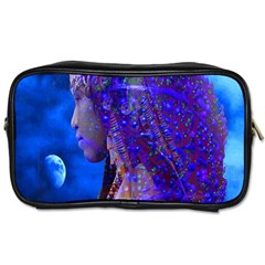 Moon Shadow Travel Toiletry Bag (two Sides) by icarusismartdesigns