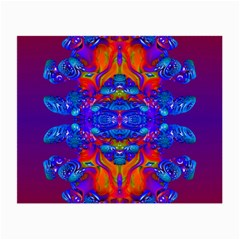 Abstract Reflections Glasses Cloth (small, Two Sided) by icarusismartdesigns