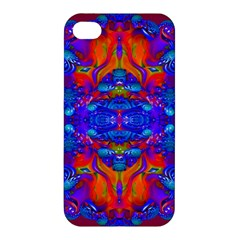 Abstract Reflections Apple Iphone 4/4s Premium Hardshell Case by icarusismartdesigns
