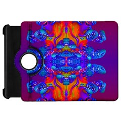 Abstract Reflections Kindle Fire HD Flip 360 Case by icarusismartdesigns