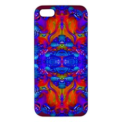 Abstract Reflections Apple Iphone 5 Premium Hardshell Case by icarusismartdesigns
