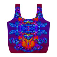 Abstract Reflections Reusable Bag (l) by icarusismartdesigns
