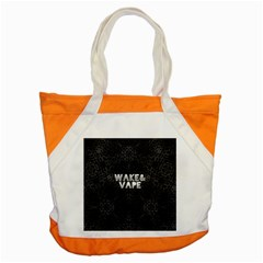 Wake&vape Leopard  Accent Tote Bag by OCDesignss