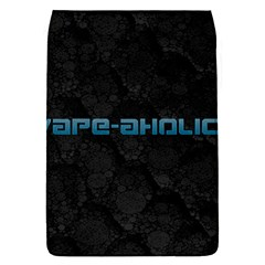 Vape Aholic Turquoise  Removable Flap Cover (small) by OCDesignss
