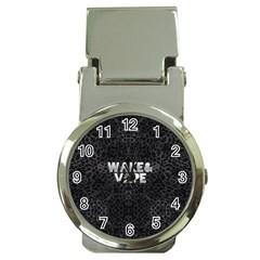 Wake&vape Leopard  Money Clip With Watch by OCDesignss