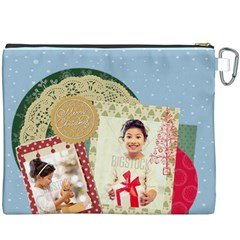 Xmas By Xmas4   Canvas Cosmetic Bag (xxxl)   6w7pa9ujbkuu   Www Artscow Com Back