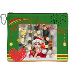 Xmas By Xmas4   Canvas Cosmetic Bag (xxxl)   P81yt7h84p79   Www Artscow Com Front