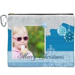 merry christmas - Canvas Cosmetic Bag (XXXL)
