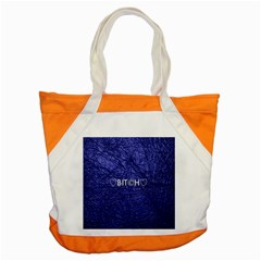 Blue Bit?h Accent Tote Bag by OCDesignss
