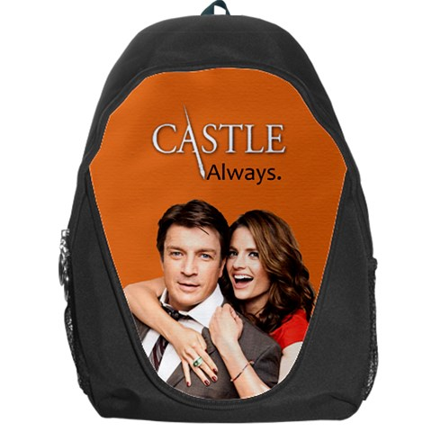 #castle Bag By Ilana Hakim   Backpack Bag   2jwjzae2nqqg   Www Artscow Com Front