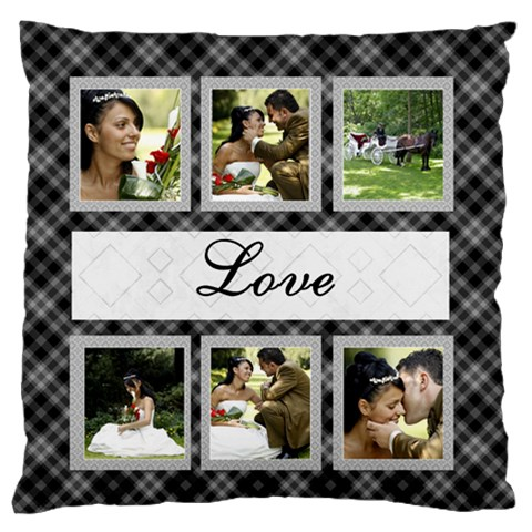 Love Standard Flano Cushion Case By Deborah   Standard Flano Cushion Case (one Side)   Em4dj5flhl2y   Www Artscow Com Front