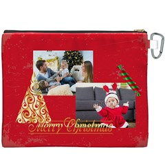 Xmas By Xmas   Canvas Cosmetic Bag (xxxl)   2sfto2tnbos8   Www Artscow Com Back