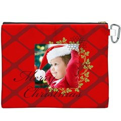 Xmas By Xmas   Canvas Cosmetic Bag (xxxl)   G73v8yblqigl   Www Artscow Com Back