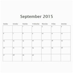 Calendar2015 Chenxin Xiaogang By Shengwu Chen   Wall Calendar 11  X 8 5  (12 Months)   G0f4enurqdi9   Www Artscow Com Sep 2015