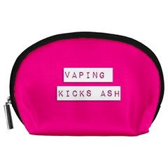 Vaping Kicks Ash Pink  Accessory Pouch (large) by OCDesignss