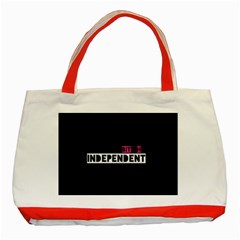 Independent Bit H Classic Tote Bag (red) by OCDesignss