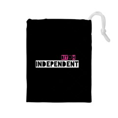 Independent Bit H Drawstring Pouch (large)