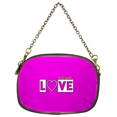 Love Yo self  Chain Purse (one Side) by OCDesignss