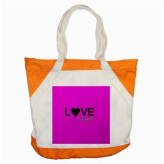 Love Yo self  Accent Tote Bag by OCDesignss