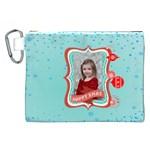 xmas - Canvas Cosmetic Bag (XXL)