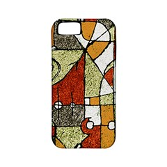 Multicolored Abstract Tribal Print Apple Iphone 5 Classic Hardshell Case (pc+silicone) by dflcprints