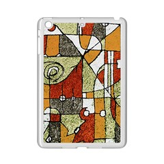 Multicolored Abstract Tribal Print Apple Ipad Mini 2 Case (white) by dflcprints