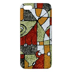 Multicolored Abstract Tribal Print Iphone 5s Premium Hardshell Case by dflcprints