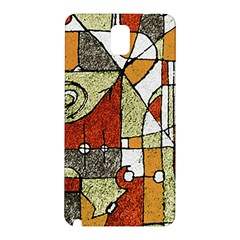Multicolored Abstract Tribal Print Samsung Galaxy Note 3 N9005 Hardshell Back Case by dflcprints
