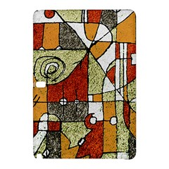 Multicolored Abstract Tribal Print Samsung Galaxy Tab Pro 12 2 Hardshell Case by dflcprints