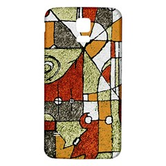 Multicolored Abstract Tribal Print Samsung Galaxy S5 Back Case (white) by dflcprints