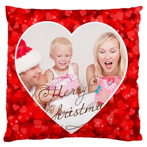 Xmas By Xmas   Standard Flano Cushion Case (one Side)   Enes1lo8jatn   Www Artscow Com Front