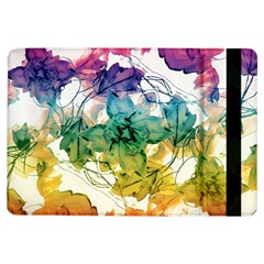 Multicolored Floral Swirls Decorative Design Apple Ipad Air Flip Case by dflcprints