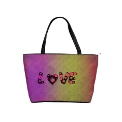 Love Abstract  Large Shoulder Bag by OCDesignss