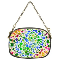 Neon Skiddles Chain Purse (Two Sided)  by OCDesignss