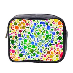 Neon Skiddles Mini Travel Toiletry Bag (two Sides) by OCDesignss