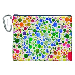 Neon Skiddles Canvas Cosmetic Bag (xxl) by OCDesignss