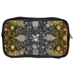 Abstract Earthtone  Travel Toiletry Bag (one Side) by OCDesignss
