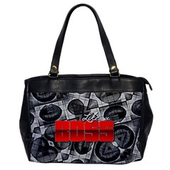 Like A Boss Sassy Lips  Oversize Office Handbag (one Side) by OCDesignss