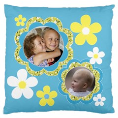 Family Standard Flano Case (2 Sided) By Deborah   Standard Flano Cushion Case (two Sides)   V3co3l7t3yb5   Www Artscow Com Back
