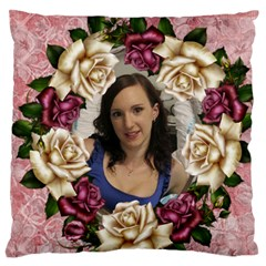 Roses And Lace Standard Flano Case (2 Sided) By Deborah   Standard Flano Cushion Case (two Sides)   Zup4u5zchoxk   Www Artscow Com Front