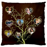 Family Tree Standard Flano Case (2 sided) - Standard Flano Cushion Case (Two Sides)