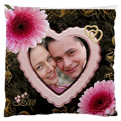 Love Standard Flano Case (2 Sided) By Deborah   Standard Flano Cushion Case (two Sides)   5n4u7nceino1   Www Artscow Com Back